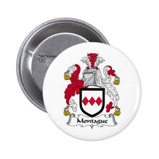 Escudo de la familia de Montague Pins