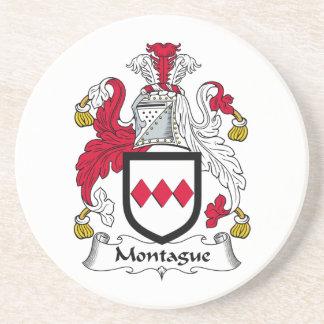 Escudo de la familia de Montague Posavasos Manualidades