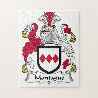 Escudo de la familia de Montague Rompecabezas