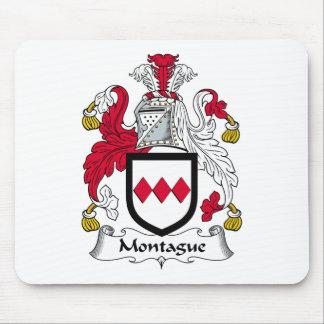 Escudo de la familia de Montague Alfombrillas De Ratones