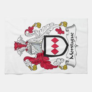 Escudo de la familia de Montague Toalla De Cocina