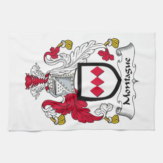 Escudo de la familia de Montague Toallas