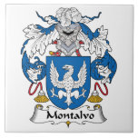 Escudo de la familia de Montalvo Azulejo Ceramica
