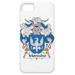 Escudo de la familia de Montalvo iPhone 5 Fundas