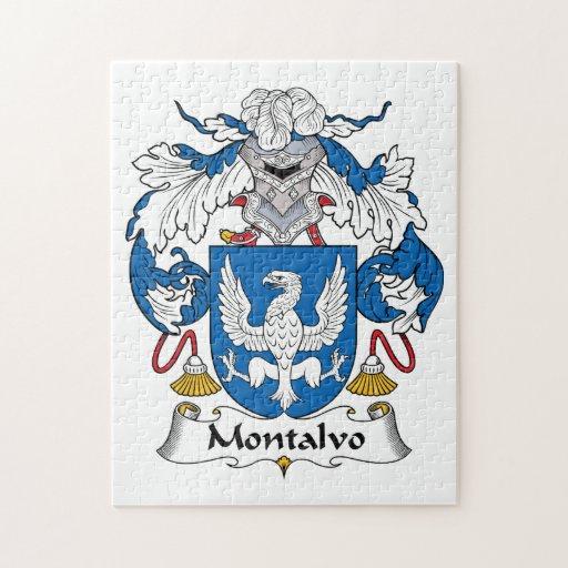 Escudo de la familia de Montalvo Puzzle