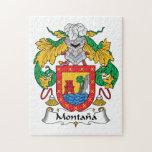 Escudo de la familia de Montana Puzzle