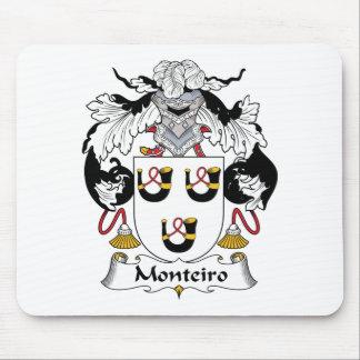 Escudo de la familia de Monteiro Alfombrillas De Raton