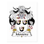 Escudo de la familia de Monteiro Postal