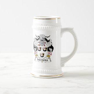 Escudo de la familia de Monteiro Jarra De Cerveza