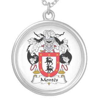 Escudo de la familia de Montes Colgantes