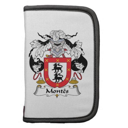 Escudo de la familia de Montes Organizador
