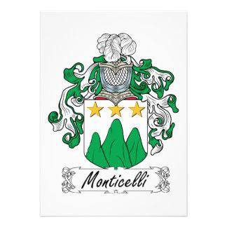 Escudo de la familia de Monticelli Anuncio