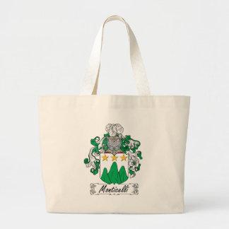 Escudo de la familia de Monticelli Bolsas