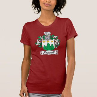Escudo de la familia de Monticelli Camisetas