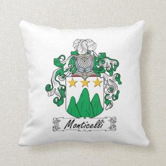 Escudo de la familia de Monticelli Cojin