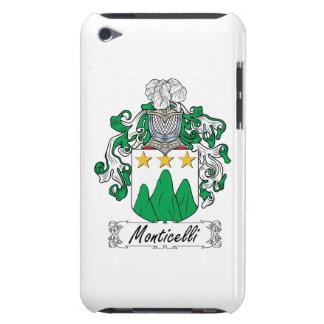 Escudo de la familia de Monticelli iPod Touch Case-Mate Protectores