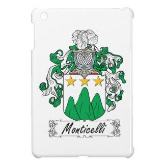 Escudo de la familia de Monticelli iPad Mini Cárcasas
