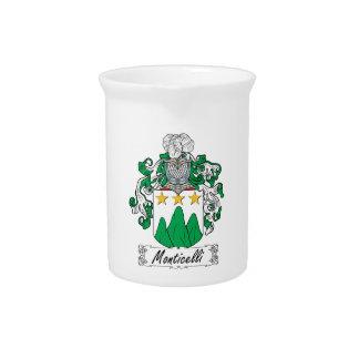 Escudo de la familia de Monticelli Jarron