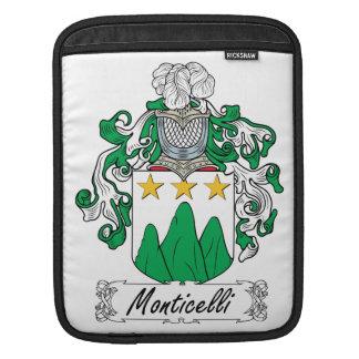 Escudo de la familia de Monticelli Manga De iPad