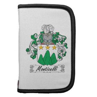 Escudo de la familia de Monticelli Planificador