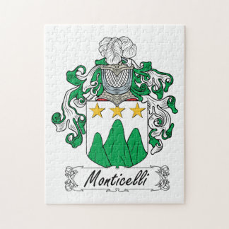 Escudo de la familia de Monticelli Rompecabeza
