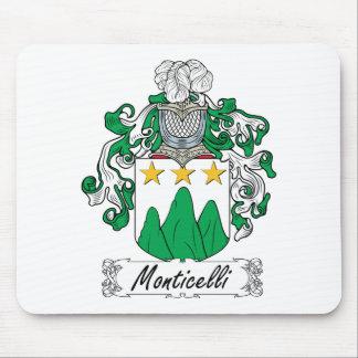 Escudo de la familia de Monticelli Tapetes De Raton