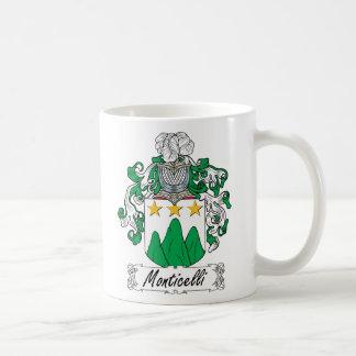 Escudo de la familia de Monticelli Taza