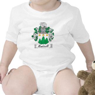 Escudo de la familia de Monticelli Traje De Bebé