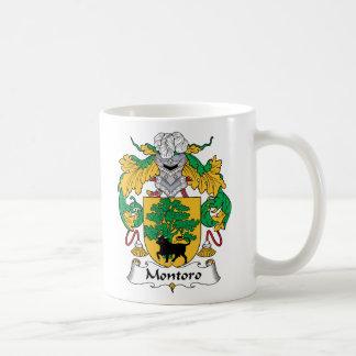 Escudo de la familia de Montoro Taza