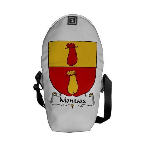 Escudo de la familia de Montsax Bolsa Messenger