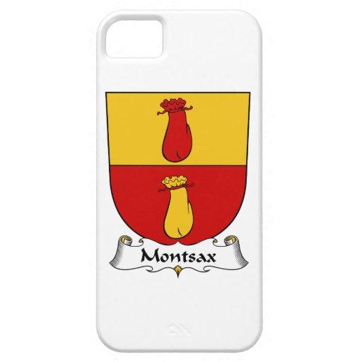Escudo de la familia de Montsax iPhone 5 Carcasa