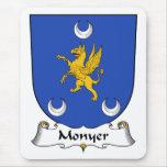 Escudo de la familia de Monyer Alfombrilla De Ratones