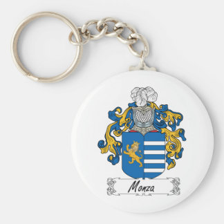 Escudo de la familia de Monza Llavero Redondo Tipo Pin