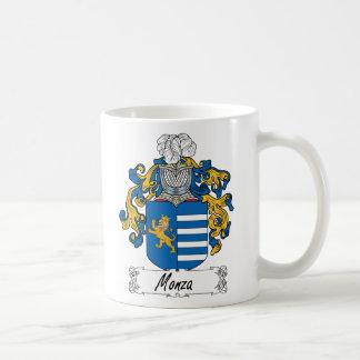 Escudo de la familia de Monza Taza Clásica