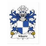Escudo de la familia de Moore Postal
