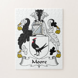 Escudo de la familia de Moore Puzzle