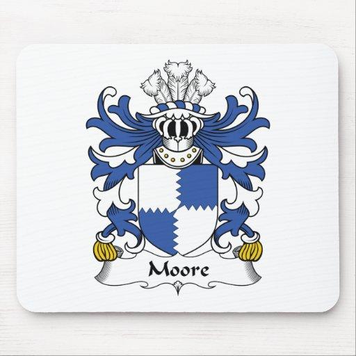 Escudo de la familia de Moore Tapetes De Ratón