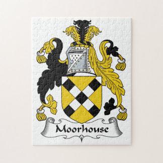 Escudo de la familia de Moorhouse Puzzles