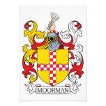 Escudo de la familia de Moorman