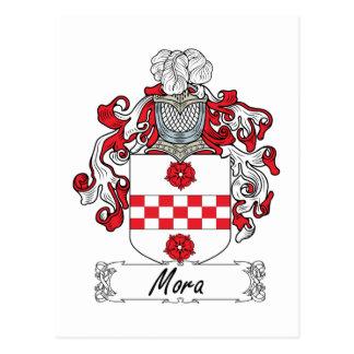 Escudo de la familia de Mora Tarjetas Postales