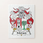 Escudo de la familia de Moraes Puzzle Con Fotos
