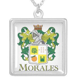 Escudo de la familia de Morales - collar