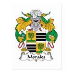 Escudo de la familia de Morales Postal