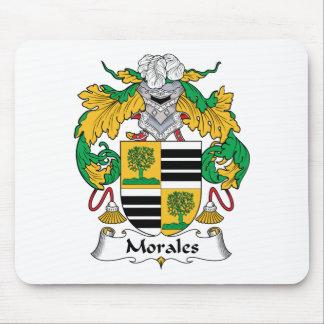 Escudo de la familia de Morales Tapetes De Raton