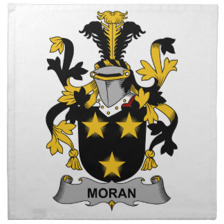 Escudo de la familia de Moran Servilletas De Papel
