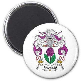 Escudo de la familia de Morato Imán Redondo 5 Cm