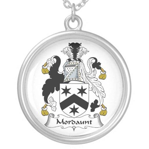 Escudo de la familia de Mordaunt Joyerias Personalizadas