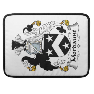 Escudo de la familia de Mordaunt Funda Para Macbooks