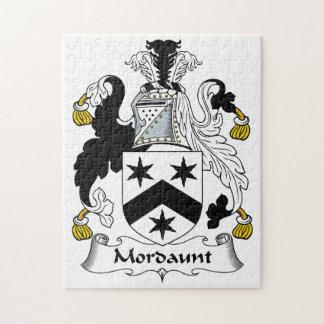 Escudo de la familia de Mordaunt Rompecabezas