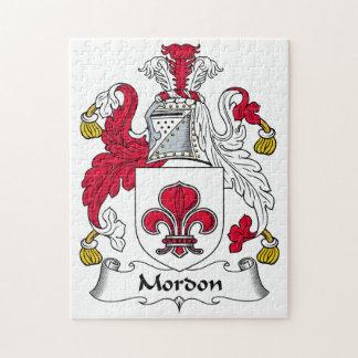 Escudo de la familia de Mordon Puzzles Con Fotos